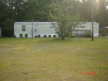 For Rent on Private lot 2bd/2bath Mobile home in Camp Lejeune, North Carolina