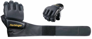 Harbinger 320 Bag Glove WristWrap (Black) in DeRidder, Louisiana