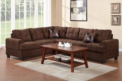 MICROFIBER SECTIONAL FREE DELIVERY in Huntington Beach, California