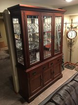 Tuscany/Country Leaded Glass Cabinet in Sugar Grove, Illinois
