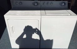 Ge Washer and Electric Dryer in Camp Pendleton, California