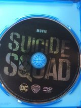 Suicide Squad DVD in Okinawa, Japan