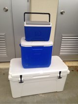 yeti cooler and 2 other coolers in Okinawa, Japan