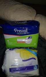 Adult underwear NEW 36 count 20 and 16 in Beaufort, South Carolina