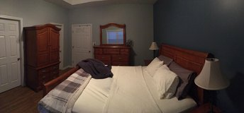 Ashley master bedroom set - king in Camp Lejeune, North Carolina