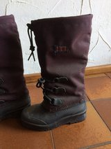 Snow boots in Ramstein, Germany