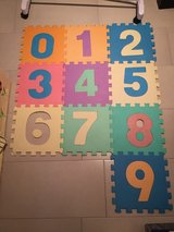 Number Mats in Ramstein, Germany