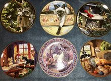 Cat Collectible Plates 6 Limited Edition in Liberty, Texas