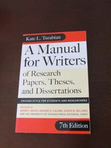 A Manual for Writers of Research Papers, Theses, and Dissertations in Peoria, Illinois