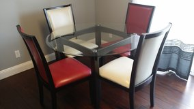 Ashley Kitchen Dining Table 4 Chairs in Fort Leonard Wood, Missouri