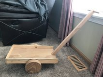 Free wood wagon in Aurora, Illinois