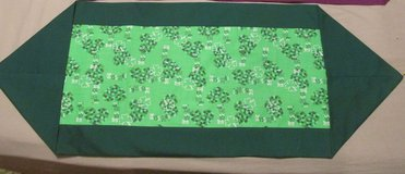 Table Runner for St. Patricks Day March in Byron, Georgia