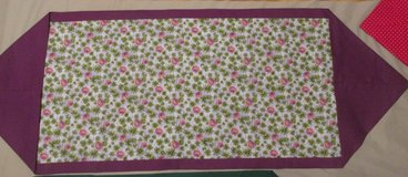 Table Runner for March Clovers for St.  Patricks in Warner Robins, Georgia