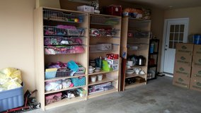 Very large storage shelves, excellent condition in Byron, Georgia