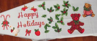 Applique Holiday Sayings with Applique pieces as sets or seperate in Warner Robins, Georgia