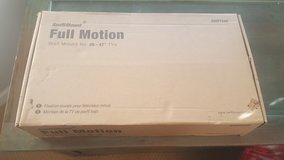 full motion tv wall mount.. for tv sizes 26-47 inches in Aurora, Illinois