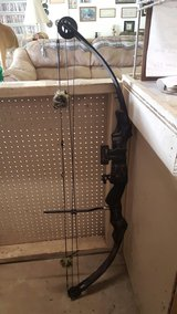 bow without arrows in Fort Polk, Louisiana