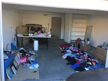 Garage sale! Everything must go! 5148b Cracker Jack lane in Fort Irwin, California