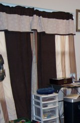 CURTAINS, TRIPLE-COLOR x2 PANELS in Lakenheath, UK