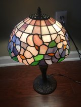 Beautiful stained glass lamp in Beaufort, South Carolina