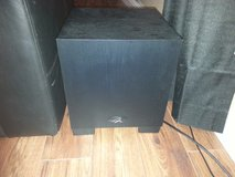 MartinLogan Dynamo 300 Home Theater and Stereo Subwoofer + CABLE - $100 in Fairfield, California