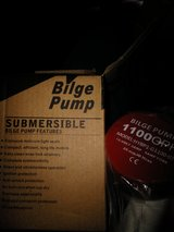 New Bilge Pump 1100 gph in 29 Palms, California