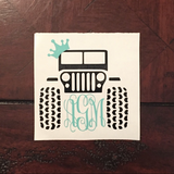 Monogram Decals in Warner Robins, Georgia