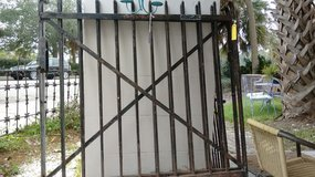 Double gate, Wrought iron in Beaufort, South Carolina