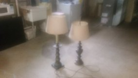 TWO STIFFEL CLASSIC ANTIQUE TABLE LAMPS in Naperville, Illinois