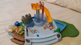 PLAYMOBILE SWIMMING POOL SET in Chicago, Illinois