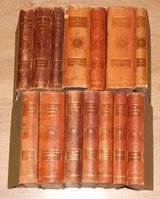 Set of Antique German Medical Encyclopedia in Stuttgart, GE