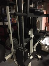 Pro spot fitness P500 with bench. in Aurora, Illinois