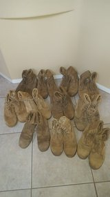 Used Military Surplus boots in Camp Pendleton, California