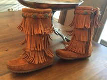 Minnetonka 3-Layer Fringe Boot-Toddler 8 in Glendale Heights, Illinois