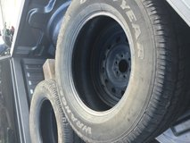 P275 R18 tires only 3 in Oceanside, California