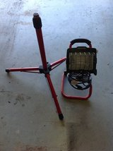 Craftsman 250/500 wall halogen work light with tripod and portable stand in Aurora, Illinois