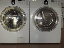 SAMSUNG FRONT-LOAD WASHER & DRYER; WHITE in Lumberton, North Carolina