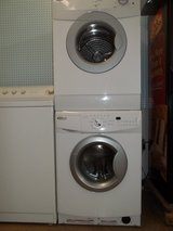 WHIRLPOOL STACKABLE WASHER & DRYER SET; WHITE in Fort Bragg, North Carolina