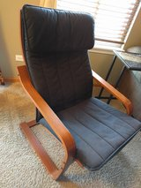 IKEA Poang Chair with Cover in Joliet, Illinois