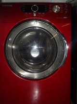 SAMSUNG TANGO RED VRT WASHER in Lumberton, North Carolina