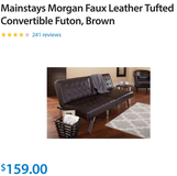 Futon/couch/bed in Baytown, Texas