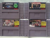 super Nintendo games in Leesville, Louisiana