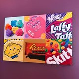 Carla Bank - original painting -  candy theme painting in Naperville, Illinois
