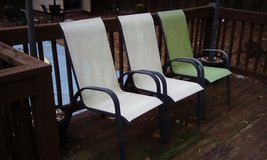 Outside Chairs Set of 3 ppu in Camp Lejeune, North Carolina