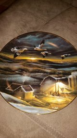 "Terry Redlin ""Night Light"" collectors plate in Byron, Georgia"