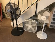 Fans-3 to pick from! in Fairfield, California