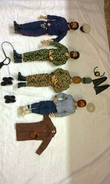 Vintage 1970 GI Joes with Accessories in Byron, Georgia