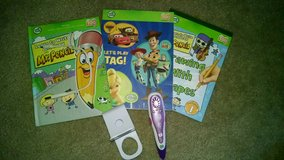 Leap frog TAG with 3 books in Aurora, Illinois