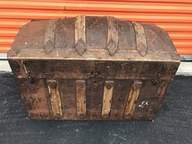 "Antique 1800's  ""Hump Back"" Trunk in Cherry Point, North Carolina"