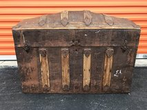 "1800's  ""Hump Back"" Trunk in Cherry Point, North Carolina"